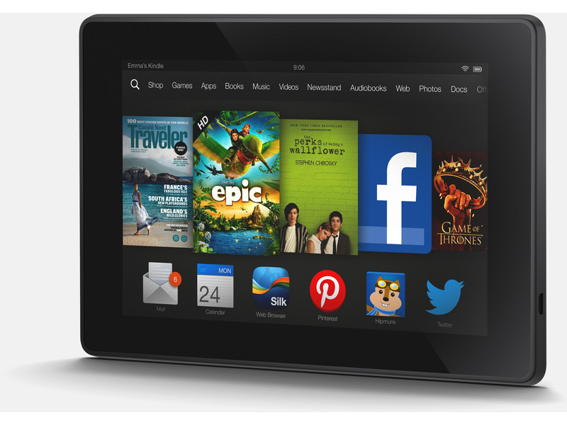 KINDLE FIRE HD 7″ TECH SUPPORT AND SETUP