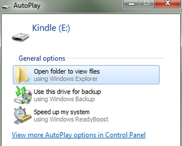 Transfer Files From Kindle to PC